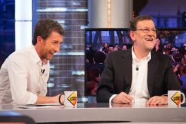 Rajoy anduvo en cinta y explicó su lapsus del alcalde y los vecinos en 'El Hormiguero'