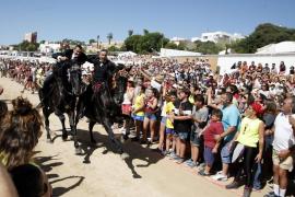 Multitudinarios Jocs des Pla en Ciutadella