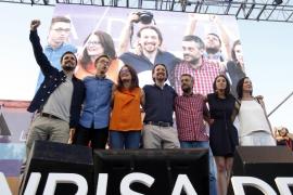 Iglesias llama al voto útil de Unidos Podemos, «el encuentro con la izquierda de toda la vida»