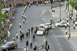 Seis detenidos en Londres por una posible amenaza terrorista contra el Papa