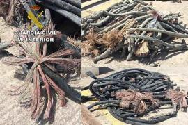 Detenido por robar 500 metros de cable a la operadora que lo había contratado