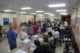 Cae «ligeramente» la participación respecto a las elecciones de diciembre