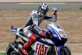 Lorenzo: «Perdemos algo de tiempo en la recta pero estoy contento»
