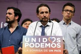 Iglesias: «Más allá de los resultados, creemos que la confluencia con IU es la correcta»