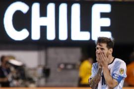 Messi anuncia que no seguirá jugando con la selección de Argentina