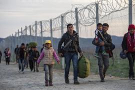 Diada de apoyo al refugiado en Palma