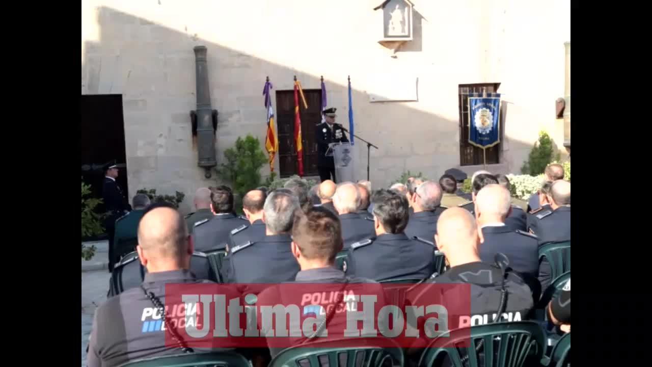 El nuevo jefe de la policía de Palma toma posesión de su cargo