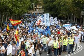 Miles de guardias civiles marchan al grito de «Ya no tenemos miedo»