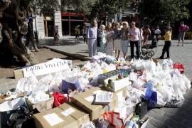Palma Viva Club recoge más de cuatro toneladas de alimentos para Cáritas Mallorca