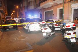 Detenido un conductor borracho tras volcar su coche y provocar el pánico en el centro de Palma