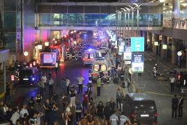 Atentado en el aeropuerto de Estambul