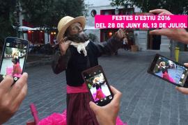 'Cercavila' y Gran Guateque en el día grande de las fiestas de Canamunt