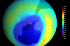 Primeros signos de curación en la capa de ozono