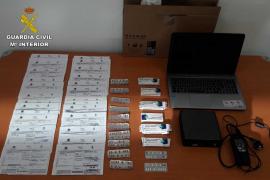 Detenido un hombre en Calvià por falsificar recetas médicas