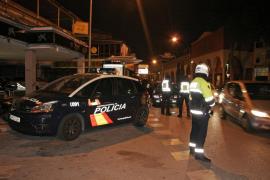 Medio centenar de simpatizantes de bandas latinas se pelean en Gomila