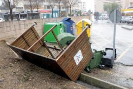 El temporal provoca casi 500 incidentes en Balears