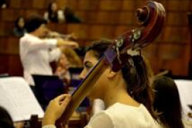 La Jove Orquestra de les Illes Balears actúa en Inca
