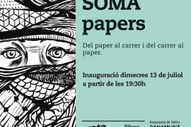 Los grafitis y murales de Soma se integran en Rata Corner