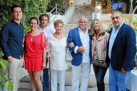 Fiesta de inauguración en Ses Coves de Génova