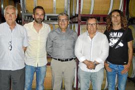 Encuentro de artistas con los rotarios de Inca