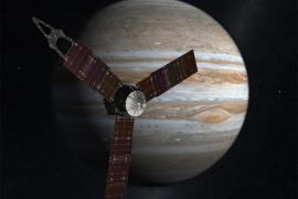 La nave Juno entra en la órbita de Júpiter