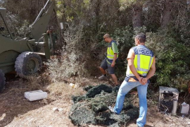 Operación contra el narcotráfico en Son Banya y otros seis puntos de Palma