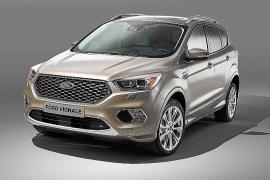 Ford presenta la versión de producción del Kuga Vignale