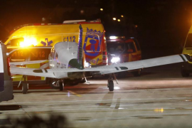 Dos fallecidos al estrellarse una avioneta civil en Cuatro Vientos