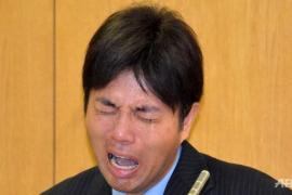 Tres años de cárcel para el político corrupto nipón que se hizo viral por sus llantos