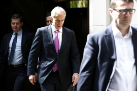 Blair acepta que la inteligencia sobre Irak era «errónea» y pide disculpas