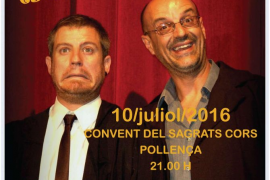 'Quan el teatre es converteix en festa' asegura las risas en Pollença