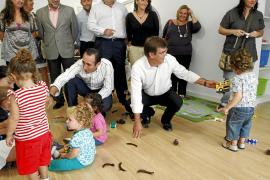 Antich y Bauzá inauguran las nuevas 'escoletes' municipales de Ca's Miot y Ses Cases Noves