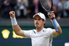 Murray, sufrida victoria cien sobre hierba, y séptima semifinal de Wimbledon