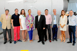 Presentación del avión 'Ramon Llull', de Air Europa