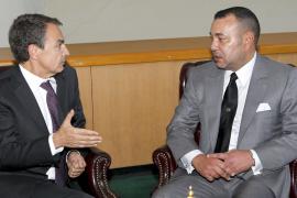 Zapatero y Mohamed VI apuestan por el respeto y la buena voluntad