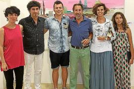 Dionís Bennàssar expone obra de Rubén Martín de Lucas