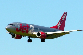 Emergencia a bordo de un avión que volaba desde Glasgow hacia Mallorca