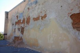 ARCA avisa del desprendimiento de la muralla en Es Baluard