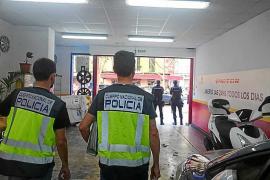 El dueño de un taller de Palma, detenido por explotación laboral