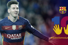 El Barcelona inicia una campaña de apoyo a Messi
