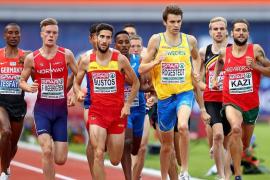 El mallorquín David Bustos, subcampeón de Europa en 1.500 metros