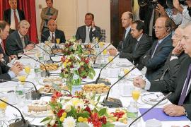 Zapatero vende a los inversores de Wall Street la solvencia de España