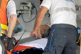 Un hombre de 70 años resulta herido al ser atropellado en la calle General Riera