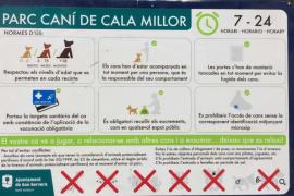 El Ajuntament de Son Servera inaugura un nuevo paruqe canino en Cala Millor