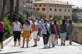 La llegada de turistas extranjeros subió en agosto casi el 11% en Balears