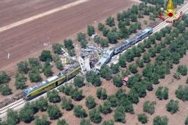 Accidente de tren en Italia