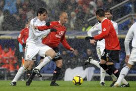 El Mallorca tirita en el Bernabéu