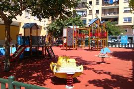 La zona de juegos infantiles de Colliure vuelve a abrirse al público