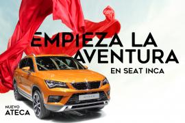Descubre el nuevo Seat Ateca en el concesionario Seat Inca