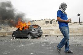 La policía israelí toma la Explanada de las Mezquitas durante una protesta